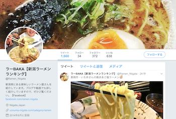 ラーBAKA【新潟ラーメンランキング】