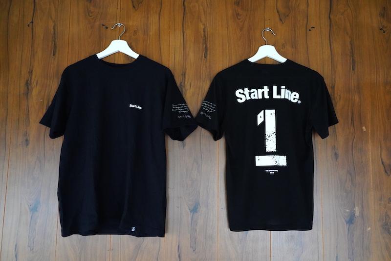 StartLine 1周年記念 T