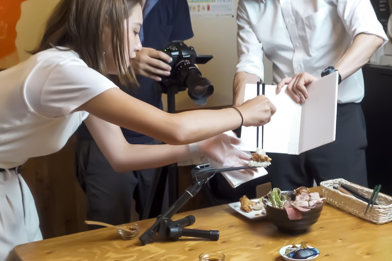 本気丼2020 撮影